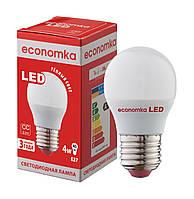 Светодиодная лампа Economka LED G45 4W E27-2800К
