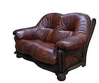 """Раскладной 2х местный кожаный диван """"Hammer"""" (Хаммер). (155 см)"""