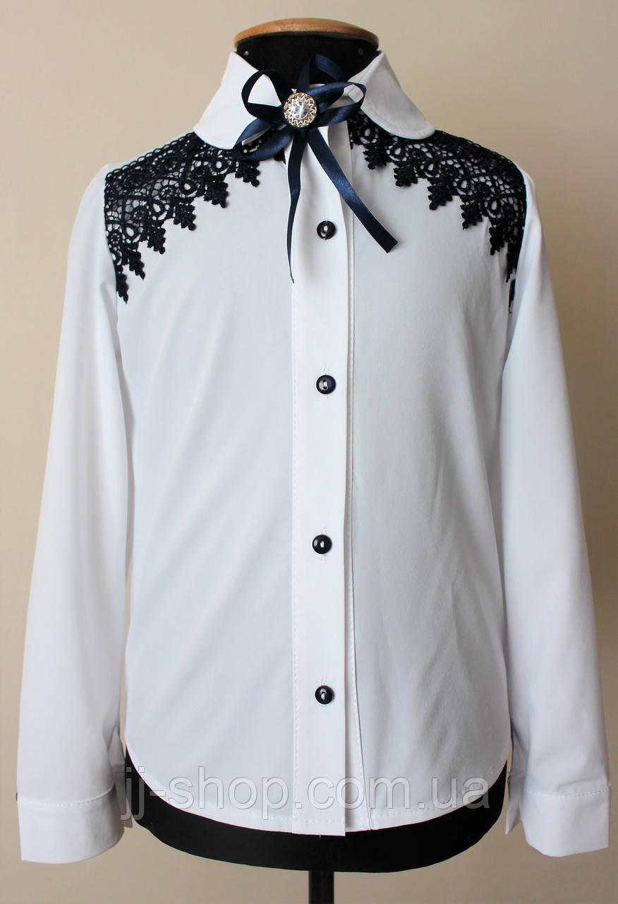 4c8c490afaa Красивая детская школьная блузка для девочки нарядная - купить по ...