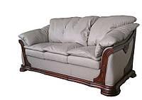 """Раскладной 3х местный кожаный диван """"Ferenza"""" (Ференза). (208 см)"""