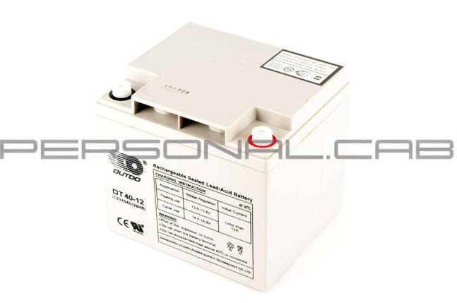 Аккумулятор 12V 40А AGM (серый), фото 2