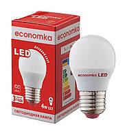 Светодиодная лампа Economka LED G45 4W E27-4200К