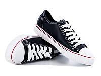 Allshoes, женская обувь оптом, недорогая обувь оптом, кеды  W-51 BLACK KOGA