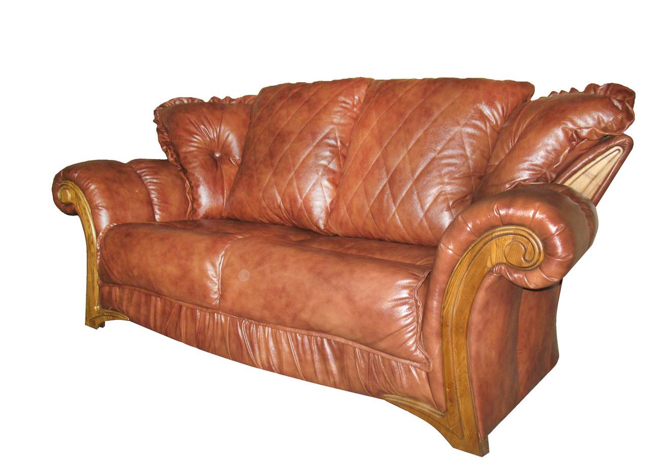 """Стильний розкладний 2х місний шкіряний диван """"Faero"""" (Фаэро). (178 см)"""