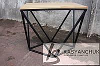 Стол в стиле лофт ручной работы, стол loft
