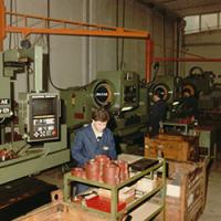 2002 Расширяет производственный сектор с инвестициями более 2000000 € при покупке автоматических станков, в том числе системы FMS, состоящей из двух дочерных компаний обрабатывающегоцентра Mazak.  2003  Он приобретает GRS SpA, мирового лидера в производстве зубчатых насосов для землеройных машин на вторичном рынке.