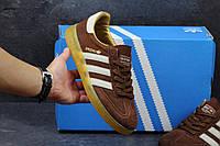 Кеды Adidas Spezial, коричневые, мужские