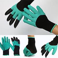 Дачные перчатки для рыхления,когти