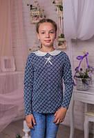Свитшот  (реглан) трикотажный на девочку-подросток  на 134-140см
