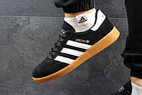 Кроссовки черно-белые Adidas Spezial, мужские