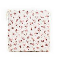 Подушка на стул с ушками Прованс 40х40 Red rose