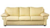"""Новый раскладной 3х местный кожаный диван """"ANAIS"""" (Анаис). (215  см)"""