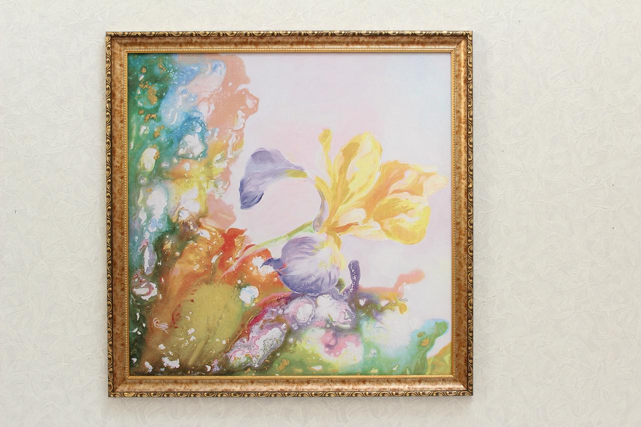 """Картина """"Желтый цветок"""""""