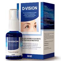 D-Vision (Дивизион) - для улучшения зрения. Цена производителя. Фирменный магазин.