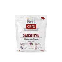 Корм для собак с чувствительным пищеварением Brit Care Sensitive Venison & Potato с олениной и картофелем, 1кг