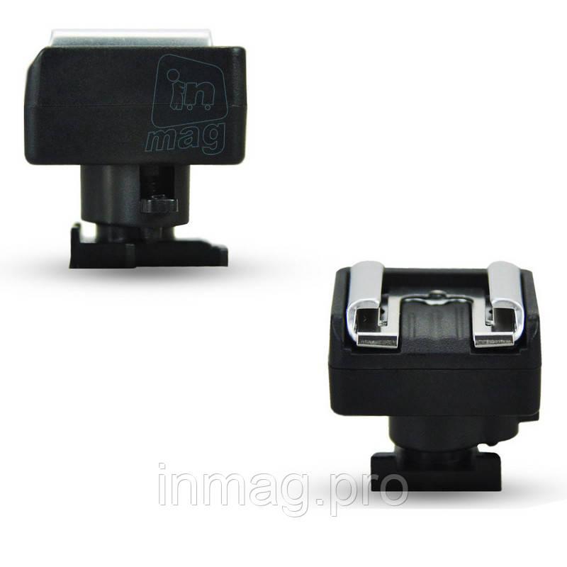 Адаптер переходник JJC MSA-1 башмака Canon Mini Advanced Shoe на униве