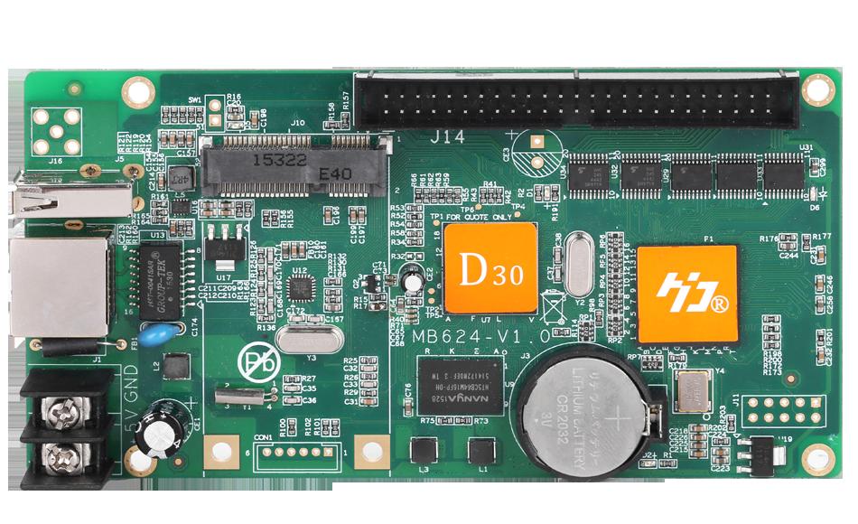 Контроллер для led дисплея P10 HD-D30 full rgb control card - Ledcorp светодиодное освещение в Одессе