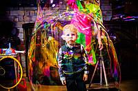 Шоу мильних бульбашок на день народження, весілля, ювілей, христини, корпоратив та інші торжества!