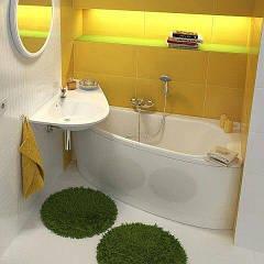 Как можно сделать небольшую ванную гораздо просторней и уютней?