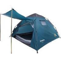 Туристическая/кемпинговая палатка трехместная King Camp Monza 3, двухслойная 3-местная