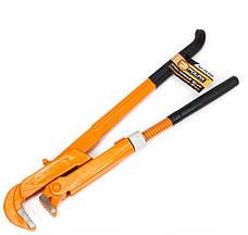 """Ключ трубный 90 градусов 3/4"""" с обрезиненной ручкой POLAX"""