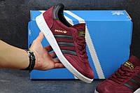 Бордовые кроссовки Адидас Специал, мужские Adidas Spezial
