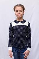 Блуза (реглан) трикотажный на девочку от 7 лет