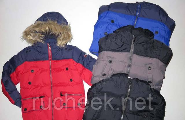 Купить детскую зимнюю куртку для мальчика 92-122 Glo-story BMA-2735