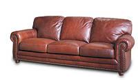"""Кожаный 3х местный диван """"OREGON"""" (Орегон). (230 см)"""