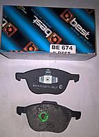 Тормозные колодки передние Ford Focus II, III, C-max, Kuga, фото 1