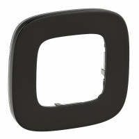 VLN-A Рамка 1 пост Чорна сталь