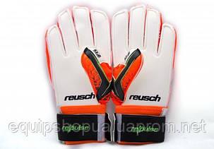 Перчатки Вратарские Reusch pro M1 replica оранжевые, фото 2