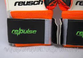 Перчатки Вратарские Reusch pro M1 replica оранжевые, фото 3