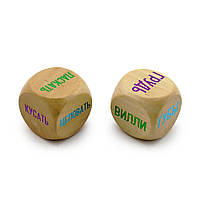"Набор мужских деревяних кубиков ""Камасутра""."
