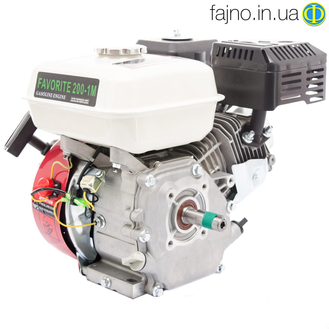 Бензиновый двигатель для дойки