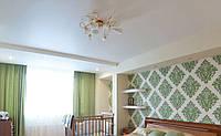 Натяжной потолок в спальне 26 м.кв.