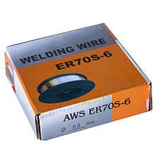 Проволока сварочная омедненная ER70S-6 0,8мм 4.5кг