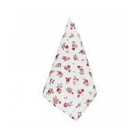 Вафельное кухонное полотенце Red Rose