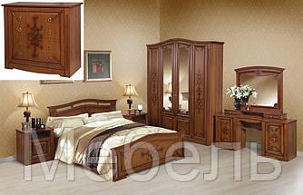 Спальня Даяна Вега (комплект с комодом и туалетным столиком)