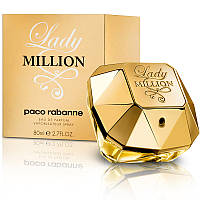 Женский парфюм Paco Rabanne Lady Million (Пако Рабан Леди Миллион)  80 мл