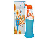 Туалетная вода для женщин Moschino Cheap & Chic I Love Love (Москино Лав Лав)  100 мл