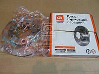 Диск тормозной передний ГАЗ 2217, ГАЗ 2752 <ДК>