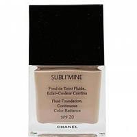 Chanel тональный крем Сhanel sublimine fond de teint fluide