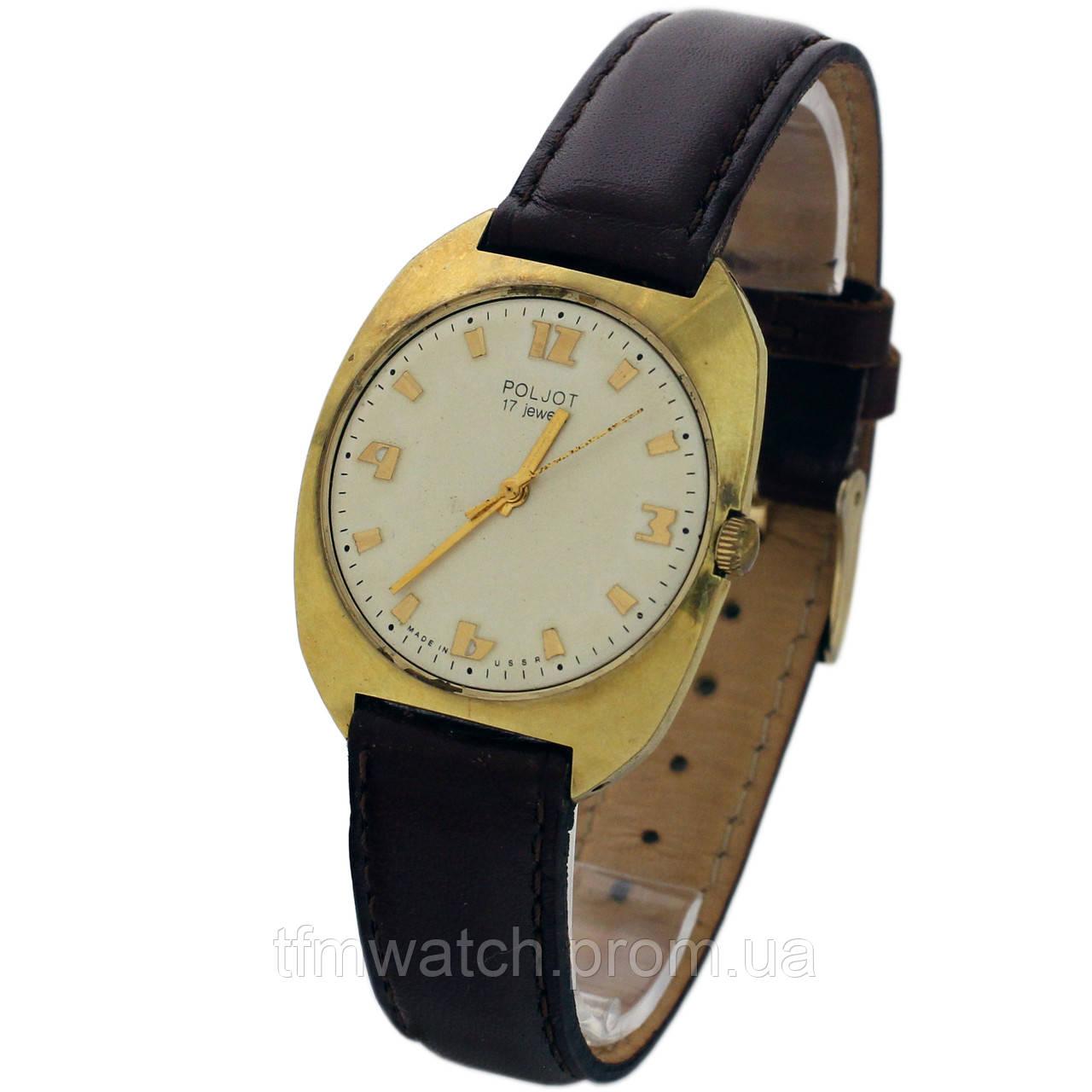Poljot 17 jewels made in USSR -  Магазин старинных, винтажных и антикварных часов TFMwatch в России