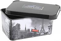 Декоративная коробка с крышкой Париж STOCKHOLM L Curver 205491