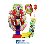 Леденец на палочке Chupi Lolly игрушкой и наклейкой 16 гр Aras
