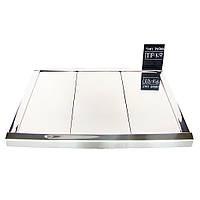 Реечный алюминиевый потолок Бард ППР- КФ- 100  хром комплект 150см х 150 см