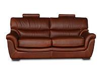 """Мягкий 3х местный кожаный диван """"LOLA"""" (Лола). (225 см)"""