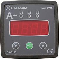 DATAKOM DA-0103 Амперметр, 3 фазы, 72x72мм