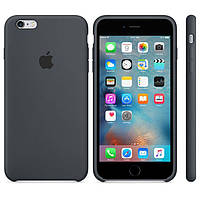 Чехол для iPhoneOriginal silicone case for iPhone 6 Plus/6S Plus Space Gray (Ц-000038333)